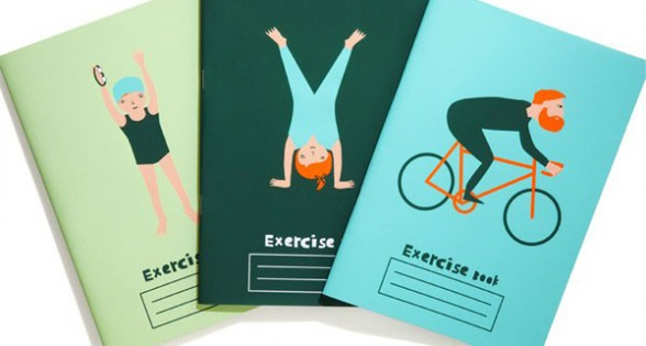 Donna Wilson Excersise Books