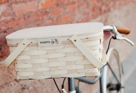 Poketo Cycle Picnic Basket