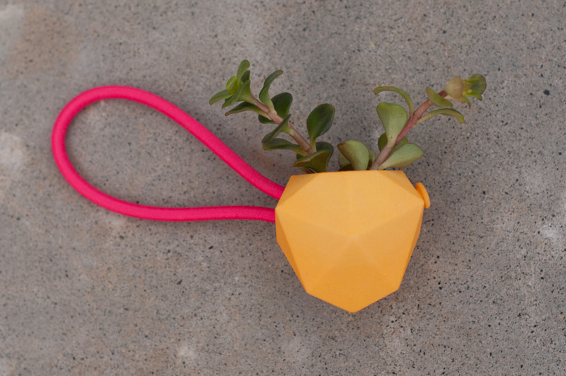 Cycle Planter from Wearable Planter