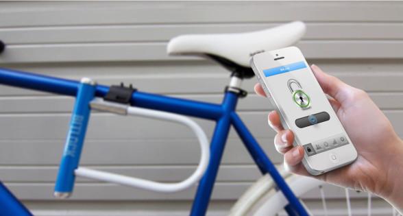 Bitlock Smartphone operated bikelock