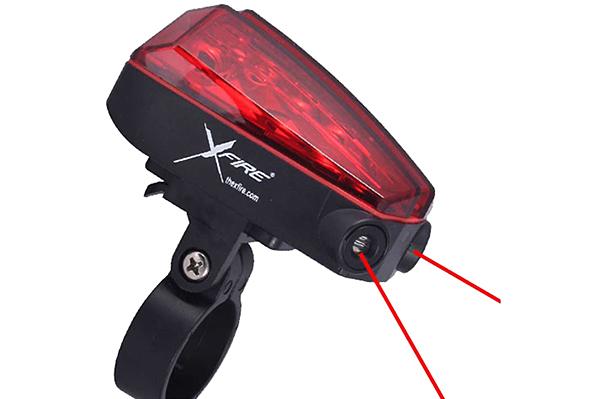 Xfire: On-Demand Laser Bike Lane
